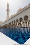 Sheikh Zayed Grand Mosque with Shallow Pool