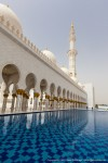 Sheikh Zayed Grand Mosque with Shallow Pool I