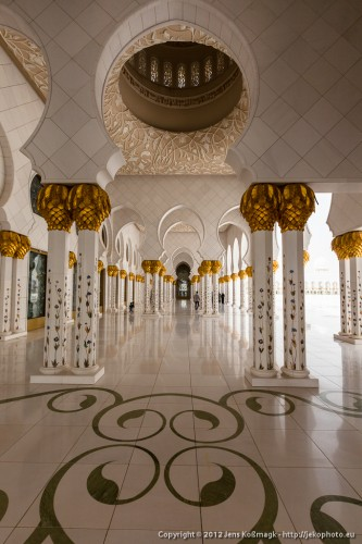 Sheikh Zayed Grand Mosque - Open Colonnade I