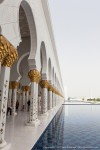 Sheikh Zayed Grand Mosque with Shallow Pool II