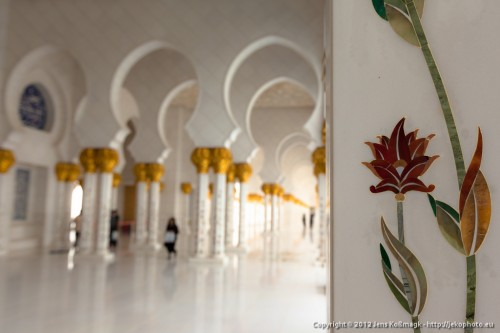Sheikh Zayed Grand Mosque - Open Colonnade V