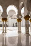 Sheikh Zayed Grand Mosque - Colonnade and Cortyard